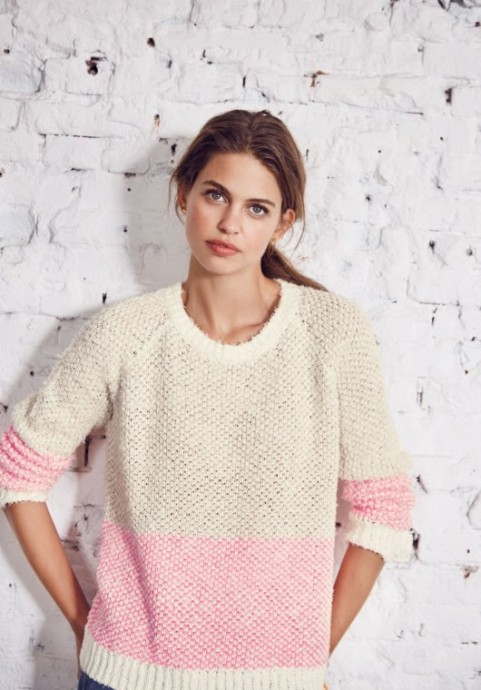 Neon color knit jumper | Hush