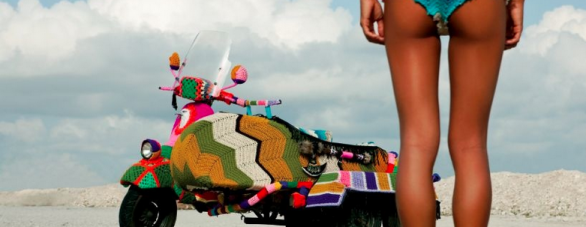 Amazing yarn bombing | Magda Sayeg