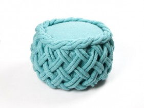 Knit-inspired furniture | Claire-Anne O'Brian - myknitaffair.com