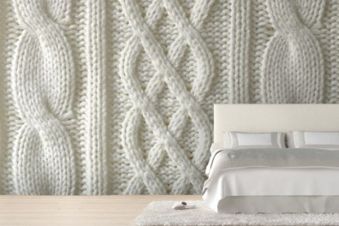 Knitted Jumper Mural | Murals Wallpaper