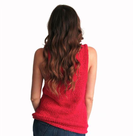 Tank top pattern | Two of Wands - knit affair
