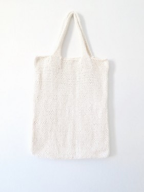 Tote bag knitting pattern, by Two of Wands - myknitaffair.com