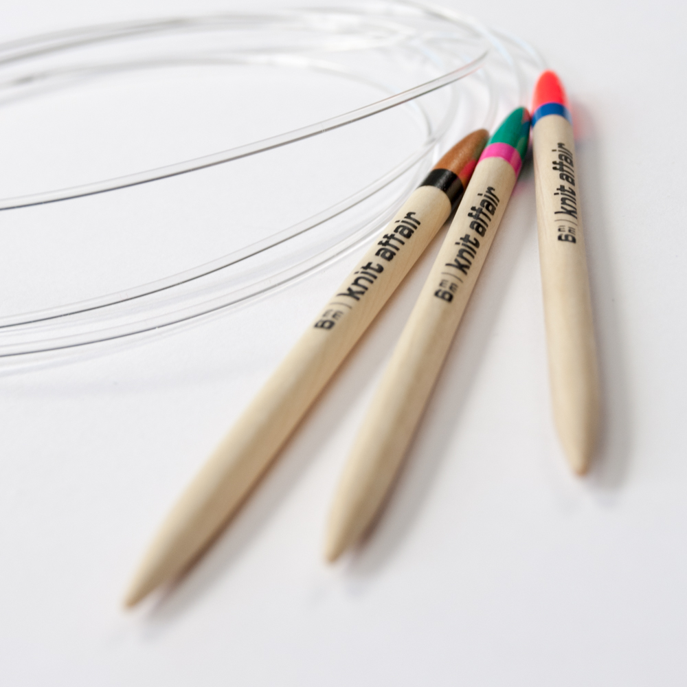 Circular knitting needles by knit affair