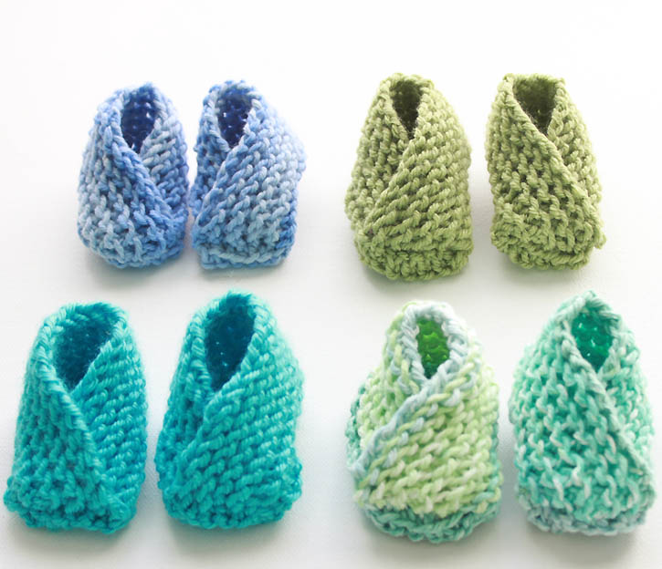 3ade89039bb Baby booties knitting pattern | Gina Michele - knit affair