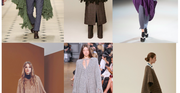 Cape & Poncho | Designer inspiration Autumn/Winter 2015/2016