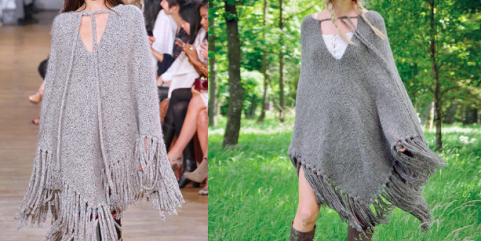 KNIT THE TREND - PONCHO KNITTING PATTERN | KIM HARGREVES