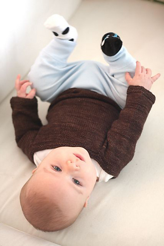 Pattern child sweater by Hannah Fettig - inspirations by knit affair