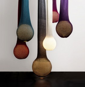 Knitted lamps by Ariel Zuckermann - myknitaffair.com