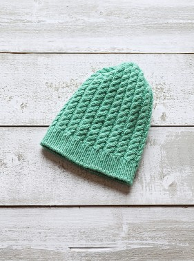 Beanie | Cold Snap by Amy Miller - www.myknitaffair.com