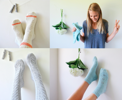 Socks knitting pattern | Cabinfour
