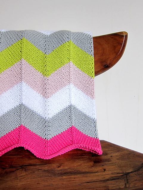 knit baby blanket pattern|Espace Tricot
