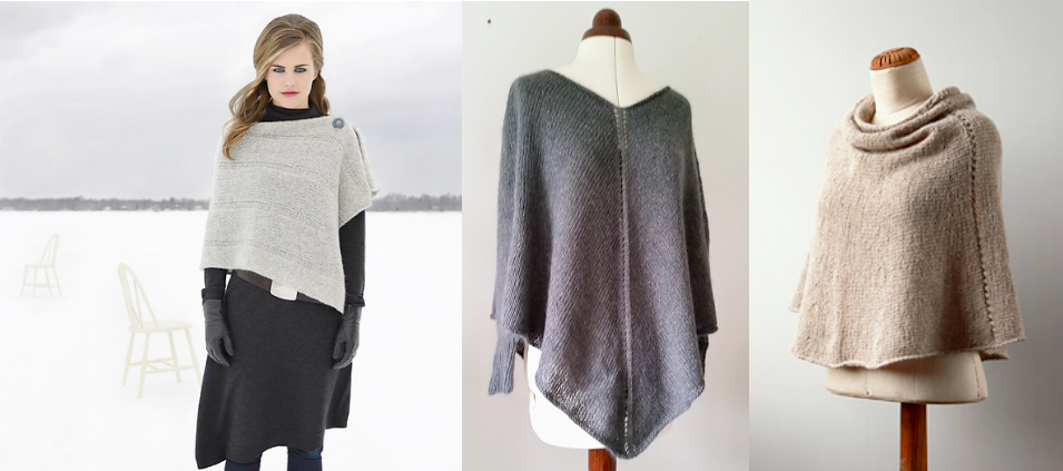 Pattern For Knitted Poncho : Poncho knitting pattern
