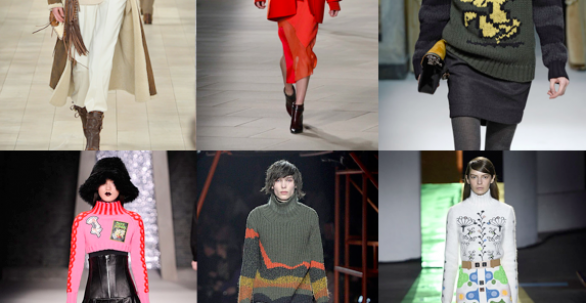Turtlenecks | Designer inspiration Autumn/Winter 2015/2016