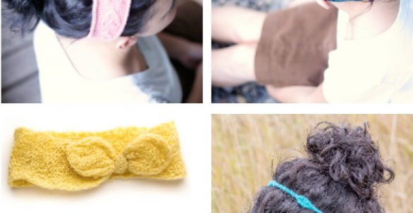 Summer Headbands Knitting Pattern | Jenise Hope