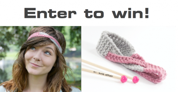 Giveaway Headband & Knitting needles | Susi Strickliesel & knit affair
