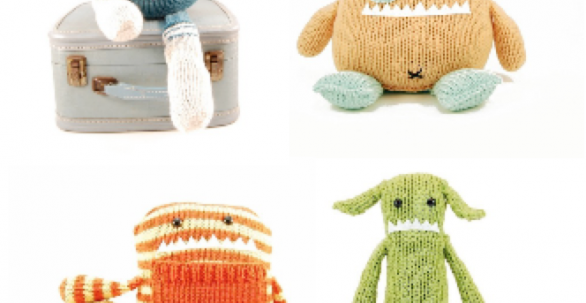 Monster knitting pattern | Danger Crafts