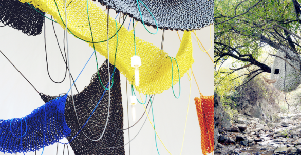 Knitted industrial material | Kwangho Lee
