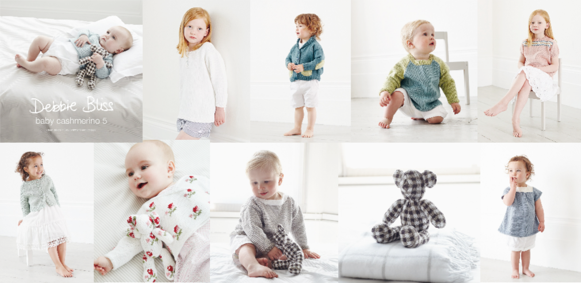 Baby & kids pattern book | Debbie Bliss & Susie Johns - knit affair