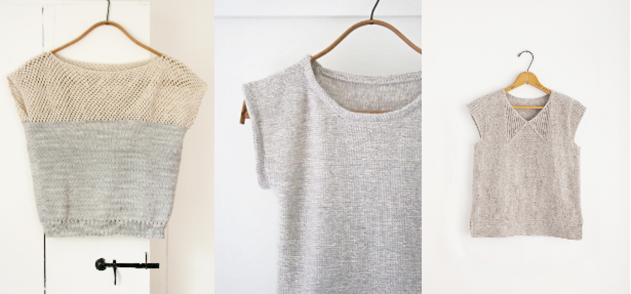 Summer shirts pattern | Purl Soho, Heidi Kirrmaier - knit affair
