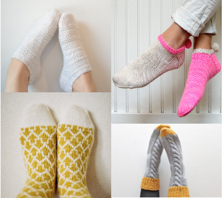 4 Stylish Sock Patterns Taina Anttila Purl Soho Makiho Negishi