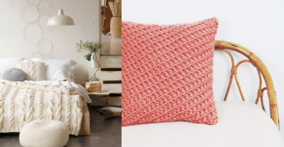 Cushion knitting pattern | Paton Yarn, Trust the Mojo